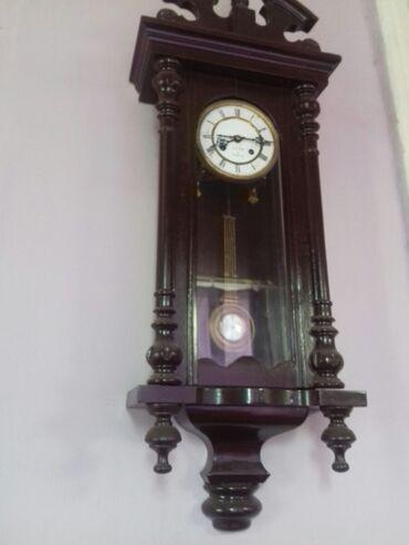 Антиквариат часы,Франция -4000 azn 1890 год
