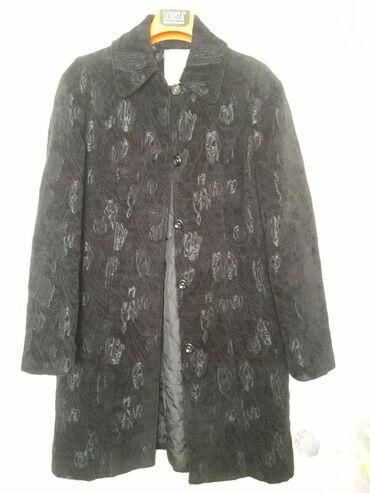 куплю пальто в Кыргызстан: Пальто импорт. в отличном сост. р. 44-46 французская длина