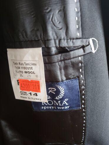 Продаётся новый турецкий школьный костюм (пиджак, брюки) для мальчика