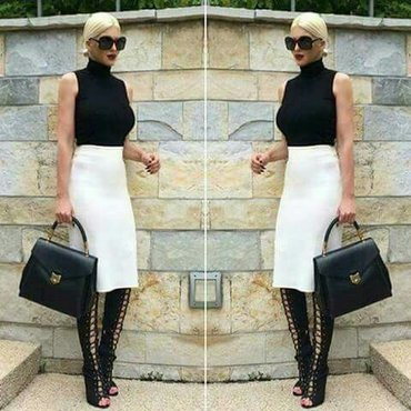 Suknja sa visokim strukom nova - Backa Palanka