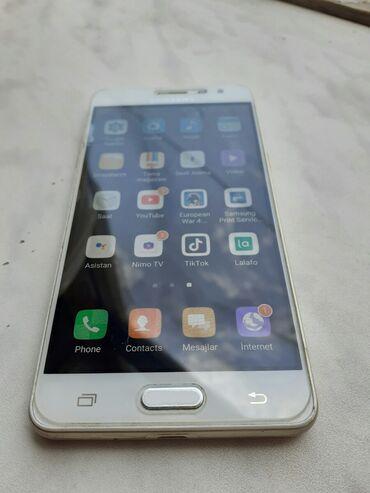 Arxa növü kamera - Azərbaycan: İşlənmiş Samsung Galaxy J3 2016 16 GB qızılı