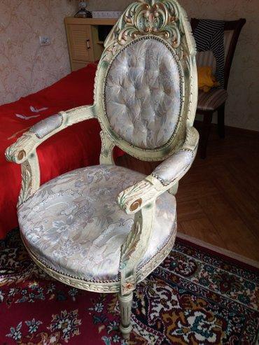 срочно продаю или меняю кресло ручной работы пр- во Иран на ковер в Бишкек