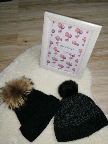 Dve prelepe zimske kape po ceni jedne Prelepe i tople. Uklapaju se uz