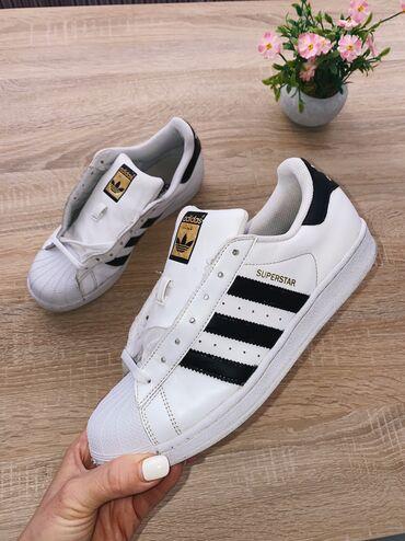 Adidas super s - Srbija: Adidas Superstar original, velicina 40 2/3, stanje vidljivo na