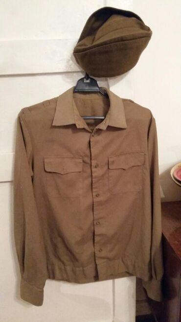 Военная мужская советская форма рубашка г. Балыкчы