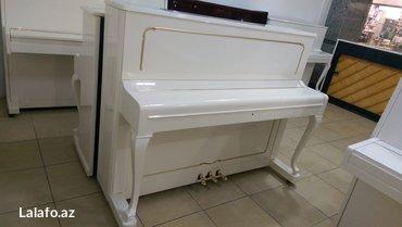 Bakı şəhərində Petrof markasından nadir rastlanan 3 pedallı klassik model piano