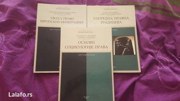 Knjige, časopisi, CD i DVD | Kovacica: Pravni fakultet u beogradu(integracije 600,sociologija 600,tradicija