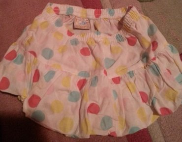 Preslatka balon suknja sa tufnama, 12-18 mes. treba se ispeglati da bi - Belgrade