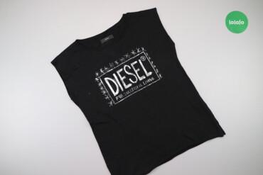 Жіноча футболка з написом Diesel    Довжина: 65 см Напівобхват грудей