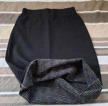 Odlicna suknja visoki struk. Cvrst kvalitetan sastav sa elastinom