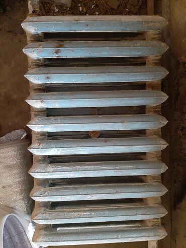 Ремонт и строительство - Теплоключенка: Каракол. Продаю чугунные батареи 32 шт. Одна секция 250сом