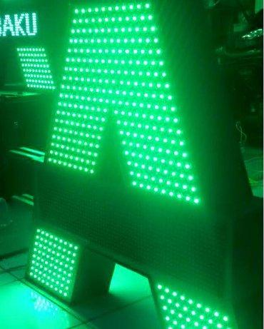led табло бегущая строка в Азербайджан: Reklam xidmetleri ve led monitor