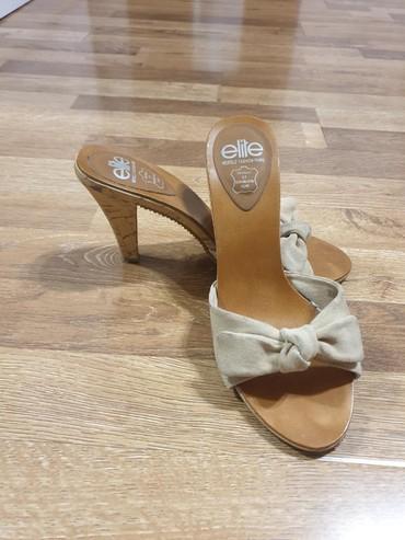 туфли-новые в Кыргызстан: Итальянские босоножки женские, новые, верх натуральная замша, очень