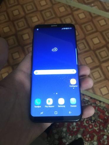 Samsung s8 2 sim в комплекте кабель в Бишкек