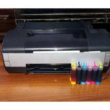 реставрация книг в Кыргызстан: 6-ти цветный А3+, A3, A4 принтер Epson 1410.Дюзы чистые, печатает без