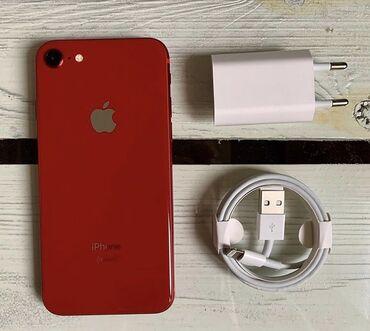 apple ipod 8gb в Кыргызстан: Новый iPhone 8 64 ГБ Красный