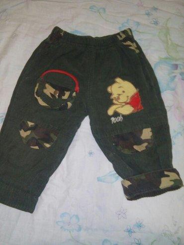 теплые с начесом штаны на мальчика до полтора годика. отличное состоян в Бишкек