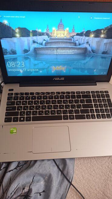 дискретная видеокарта для ноутбука купить в Кыргызстан: Модель Asus x555ujпроцессор core i5/6200u/2.30ghzоперативная память