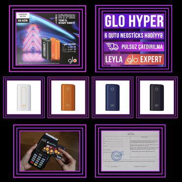 Glo hyper + 6 qutu neosticks hədiyyə 🎁🎁🎁🎁🎁glo hyper 50 azn✅cıhazın 4