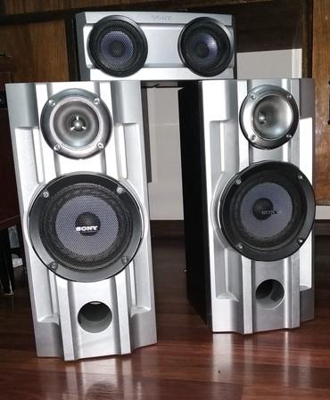 Кoлонки Sony SS-RS100D  и колонка SS-CT100 ORIGINAL от муз. центра!  в Кок-Ой