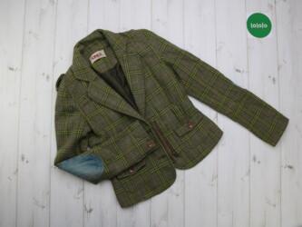 Стильный женский пиджак с латками в клетку Only,р.S   Длина: 65 см Рук