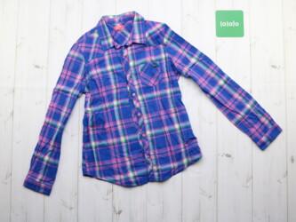Детская рубашка в клетку LCW на 11-12 лет Длина: 64 см Рукава: 51 см П