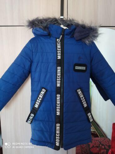 Продается курточка. очень тёплая. для девочки .на 5-8 лет. состояние