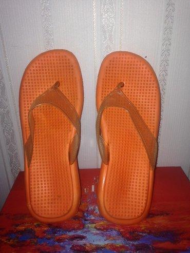 Вьетнамки апельсинового цвета) размер 38 цена 200с,состояние хорошее в Бишкек