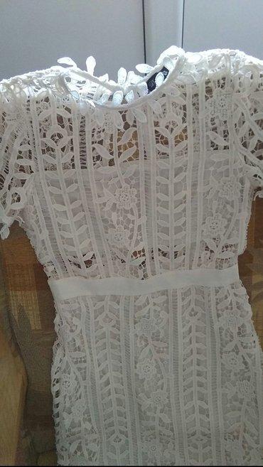 Haljina od cipke boja sampanj sa orvorom na ledjima prvoklasna - Loznica