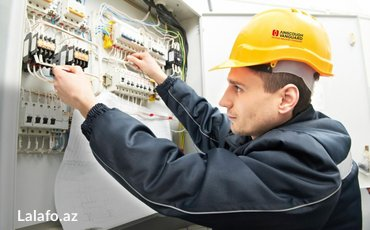 Bakı şəhərində Electric service. Legrand sisteminin montaji
