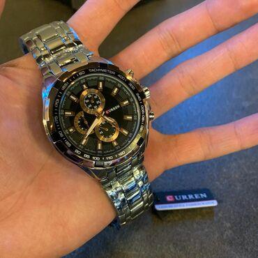 Мужская электробритва - Кыргызстан: Серебристые Мужские Наручные часы Curren