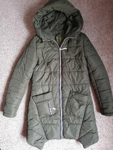 Обмен на другую куртку 44р! Обменом Куртка зима,цвет хаки,на одном