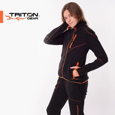 Спортивные костюмы - Кыргызстан: Женский флисовый костюм RICH TRITON ⠀Можно использовать как спортивный