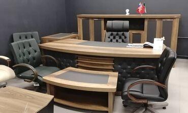 Кабинет руководителя, офисная мебель, Турция, мебель для офиса, стол