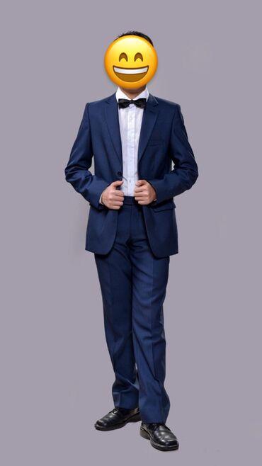 Продаю концертный костюм темно-синего цвета! Одевал 4 раза. В отличном