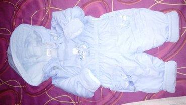 Deciji skafander - Srbija: Skafander za bebe plavi 12mes