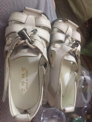 Продаются сандали детские, кожаные. В в Бишкек