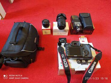 Canon 7D. Az işlənib ) 50mm+18.135.+16gb.kart. (p10ka. ciddi kesler