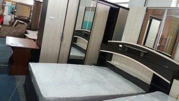спальный гарнитур  кровать  140×2 шкаф 250 h220 в Бишкек