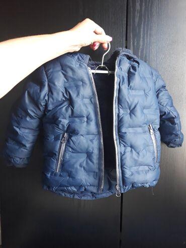 Zimska jakna - Srbija: Zimska jakna dečija postavljena. Bez ikakvih ostecenja  Velicina 86