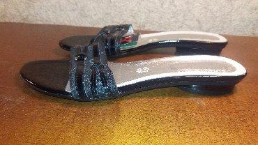 Majica-cloe - Srbija: Keys papuče br38 Made in Italy - koža. Dužina gazišta 24,5cm. U radnji