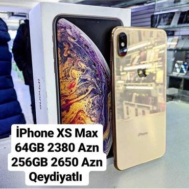 Bakı şəhərində Iphone Xs Max Kreditle Satisi