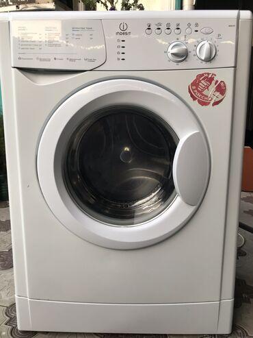 б у стиральная в Кыргызстан: Фронтальная Автоматическая Стиральная Машина Indesit 5 кг