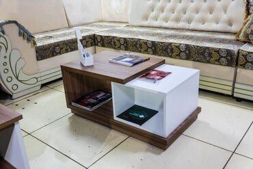 Журнальный столик, модель №6.Размер:900/500/400 мм. (Возможна