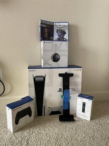 127 объявлений | ЭЛЕКТРОНИКА: Ҳоло фурӯши Sony PlayStation 5 Нашри нави контролери сиёҳWhatsApp: +1