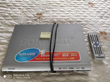 dvd-караоке в Азербайджан: Sonashi DVD/MP3/Karaoke player card reader, USB flash