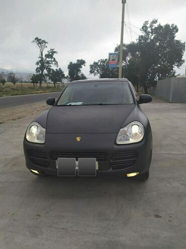 belyj porsche в Кыргызстан: Porsche Cayenne Turbo 4.5 л. 2006 | 160000 км
