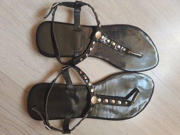 Sandale ,nove nenosene samo probane,velicina 39.SNIZENO 300 DIN - Nis