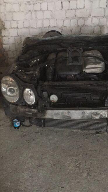 W211 mers Капот двери. Панель sbs, рулевая рейка, Акпп, ходовая ча