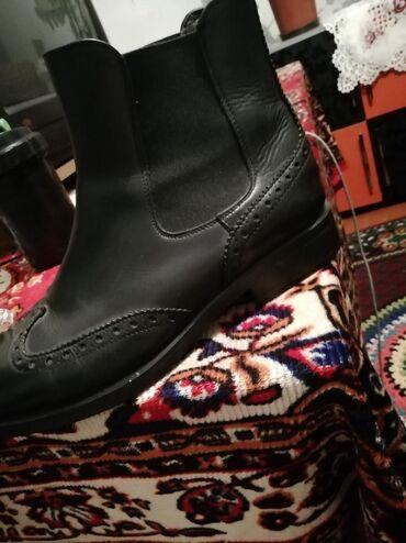 продам бу в Кыргызстан: Продам ботиночки чисто кожа Германия. Бу состояние как новые. Размер 3